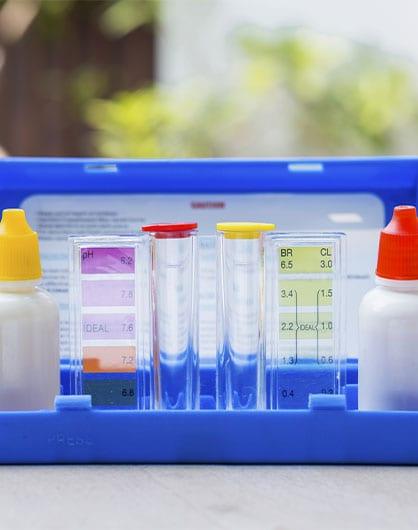Water testing test kit